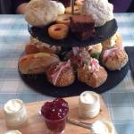 Platter for afternoon tea ��