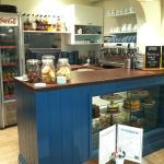 The new service counter