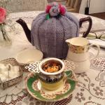 Our teapots are warm, come in out of the cold and join them
