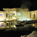 Hotel Belvedere Grindelwald: Sole-Whirlpool im Garten | Salt water Jacuzzi in the garden