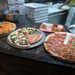 Caruso's pizzas