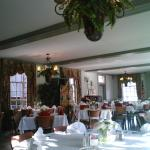 main dining room at lunch time