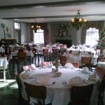 main dining room, ideal for small receptions