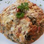 delicious veggie lasagna