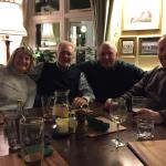 Old friends return - pub is like home from home