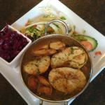 Lancashire hotpot - a real treat