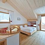 Familienzimmer Bernina, 2 Räume, 43 m2