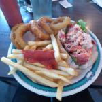 My Meal-Lobster Roll, French Fries, Jumbo Onion Rings