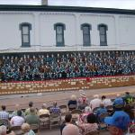 Miner's Mural with 110 miners - a must see downtown Ironwood