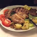 Luc de viandes grillées (bœuf, porc, agneau)