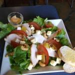 Chicken,cashew and mango salad - small serve