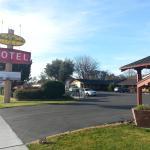 Vintage western motel
