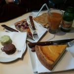 La mia colazione a Parigi!