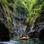 Rafting through the Upper Navua River Gorge | Viti Levu, Fiji