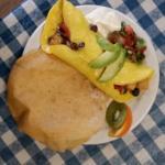 breakfast Burrito Omelette!
