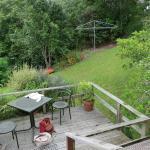 Terrace at Waitomo Guest Lodge