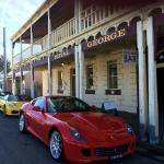 The ferrari club visits the Royal George