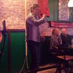 Great night thanks to Nigel on the karaoke and lovely Ali :-)