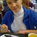 Облепиховый чай и смородиновый пирог