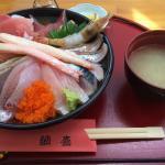 鳥取砂丘の海鮮丼 鯛喜の写真
