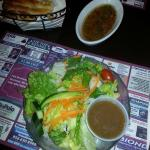 House Salad with House Dressing-Balsamic Vinegarette