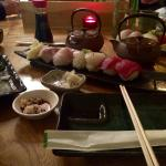 Sushi (second course on Friday taster menu)