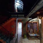 Espacio de uso común y acceso a las habitaciones