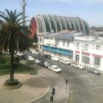 Vista desde hotel, 4to piso