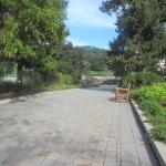Walk Way to Winery, Chateau Julien, CA