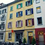 lovely colours of Zurich
