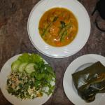 Delicious Lao food I learnt to cook then ate!