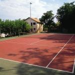 Pista de tenis Sercotel Villa Engracia