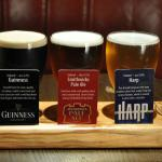 Beer Tasting Trays in the Vathouse Bar