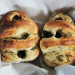 Granny Pat's olive and rosemary buns
