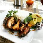 The yummy grilled chicken. Love it
