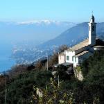 Panorama di Sant'Apollinare vicino alla trattoria.