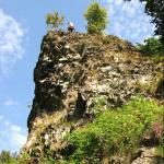 Klettern verboten am Großen Zacken