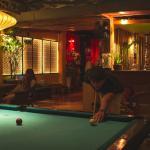 pool table & shisha bar