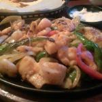 Shrimp and Scallop Fajita