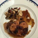 Solomillo de Ternera con Foie fresco y salsa de trufa