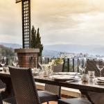 Take in enchanting views of Tuscany from our Restaurant Patio
