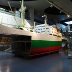 Frachtschiffmodell