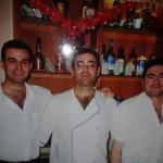 Francisco, Diego y David