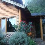 Uno de los accesos de la cabaña 5