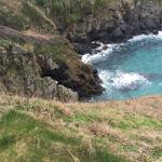 South West Coast Path Walk- Mullion Cove to Lizard Point & Village