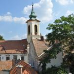 Башня церкви с холма
