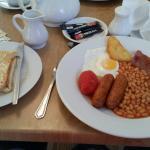 Nice breakfast. Just the job.