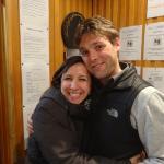 Barbara & Christophe in Reception - both stars !!