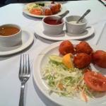 Chicken Pakora & Sauces