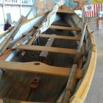 Uma baleeira restaurada